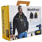 SNICKERS WORK PACK JACKET 2015 - STR. L 1128+2823 SORT/GRÅ