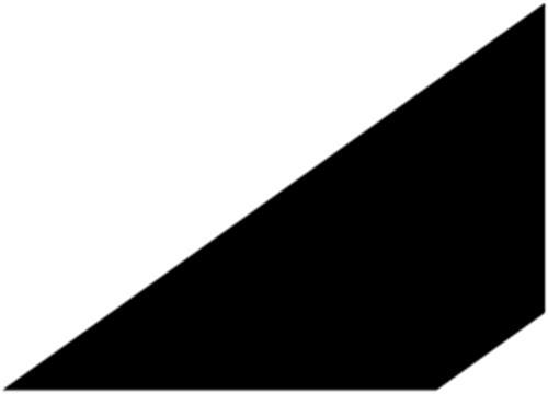 21 x 21 mm Mahogni - Fejeliste
