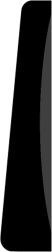 15 x 68 mm Fyr List - Indfatning 40er profil