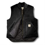 CARHARTT ARTIC ARBEJDSVEST - STR.S SORT