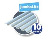 PLASTMO TRAPEZ TAGPLADE PVC - JUMBOLITE OPAL 106X360CM (ØTN)