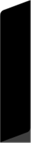 15 x 92 mm Ask  (KL) - Alm. glat fodpanel