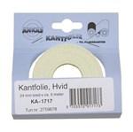 DECOPA KANTFOLIE HVID - 17 MM X 5 METER
