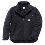 CARHARTT SORT JAKKE - STR L QD WOODWARD JACKET