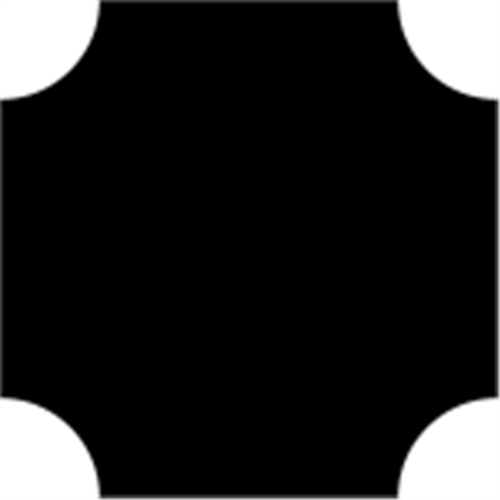 25 X 25 X 900 MM FYR - BALUSTER FIRKANT M. 4/ R5 HULK