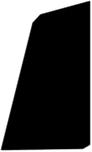9 x 15 mm Mahogni - Skureliste