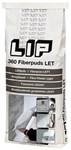 LIP 360 FIBERPUDS LET HVID - 25 KG 2-10 MM LAG TYKKELSE HST