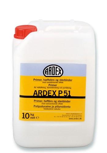 ARDEX PRIMER,STØVBINDER - P 51 DUNK/10 KG *NT-PRIS*