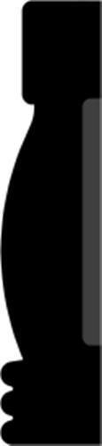 21 x 91 mm Fyr U/S 1-2 List. - Indfatning Brønshøj