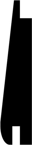 15 x 61 mm Mahogni (KL) - Portbeklædn. ca.16,4  m/m2