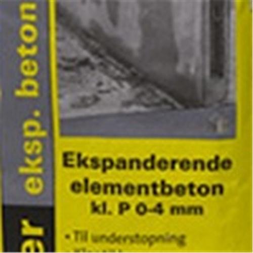 WEBER EKSP. ELEMENTBETON - 0-4 MM (KL.A)  PS/25KG