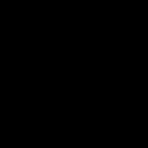 12 x 12 mm Hvidmalet fyr - Kvartstaff