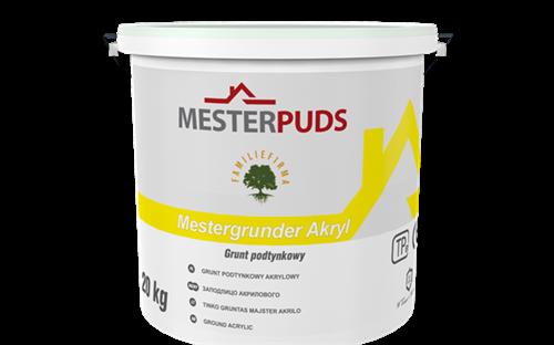 MESTERPUDS HVID AKRYL GRUNDER - SP/20 LTR (CV)