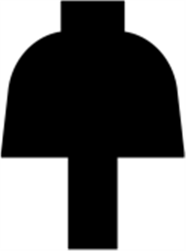 20 x 27 mm Fyr U/S 1-2 List. - Sprosse m/ 7 x 10 mm lige