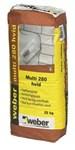 WEBER MULTI 280  HVID (VT) - PS/25 KG