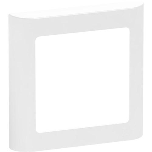 LK FUGA SOFT DESIGN + RAMME - HVID 1 MODUL *NT-PRIS*