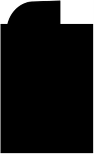 27 x 44 mm Fyr - Vinduesramme enk.prf. 7x10 mm