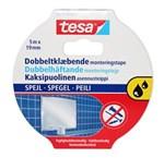 TESA SPEJLTAPE DOBBLETKLÆBENDE - 19MM X 5 M TIL VÅDRUM