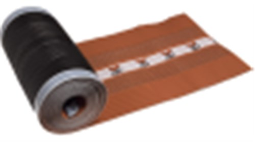 IBF ALU/NET GRATRULLER - 320 MM X 5 M  SORT