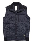 WZ TECH ZONE QUILTET VEST - L 20 SORT 100% NYLON RIPSTOP