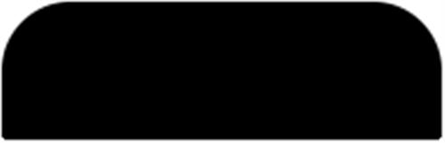 5 x 22 mm Ask  (KL) - Forkant m. 2 rundinger