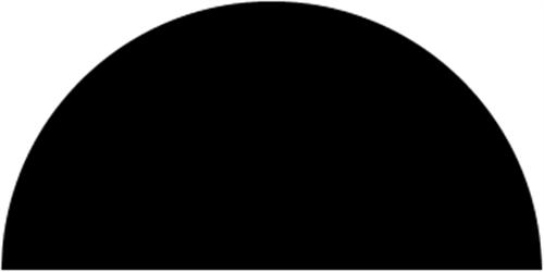 12 x 27 mm Mahogni  (KL) - Halvstaf
