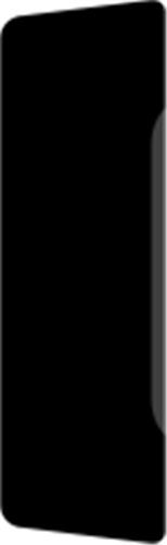 21 x 68 mm Hvidmalet Fyr List - Alm. Glat Indfatning