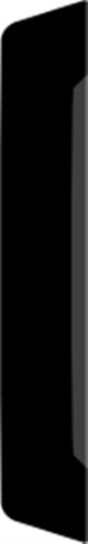 15 x 43 mm Hvidmalet Fyr List - Alm. Glat Indfatning