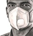 AIR+ FFP2 MASKE M. VENTIL, - 10 STK. (FOLDBAR) *NT-PRIS*