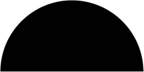 13 x 34 mm Mahogni  (KL) - Halvstaf