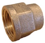 "FORMMUFFE MESSING 1/2""X3/8"" -"