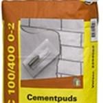 WEBER CEMENTPUDS 25 KG - C 100/400  0-2 MM