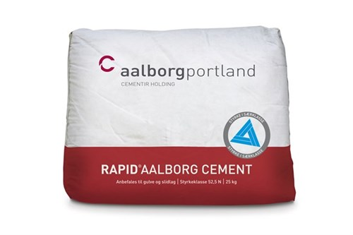 AALBORG CEMENT RAPID - 25 KG TIL BETON/MØRTEL