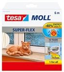 TESA HVID SILICONE TÆTNINGSLIS - 9MMX6M MOLL