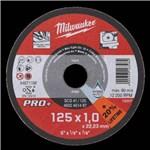 MILWAUKEE METAL SKÆRESKIVE - 125X1 MM SCS 41 PK/200 STK