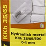 WEBER HYDRAULISK MØRTEL 0-4 MM - KKH 35/65/500 PS/25KG *NT-PRIS