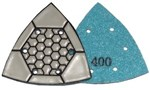 ITOOLS TURTLE PAD DELTA 93 MM - K 400 T/MARMOR, TERRAZZO M.M.
