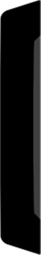 15 x 92 mm Hvidmalet Fyr List - Alm. glat indfatning