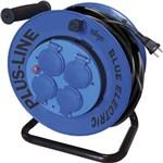 BLUE ELECTRIC KABELTROMLE - 25 MTR FAST KERNE *NT-PRIS*