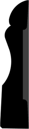 15 x 68 mm Bøg  (KL) - AlmueIndfatning
