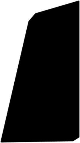 15 x 33 mm Mahogni - Skureliste