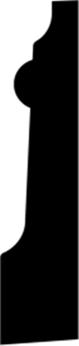 21 x 92 mm Fyr U/S 1-2 List. - Fodpanel Odense