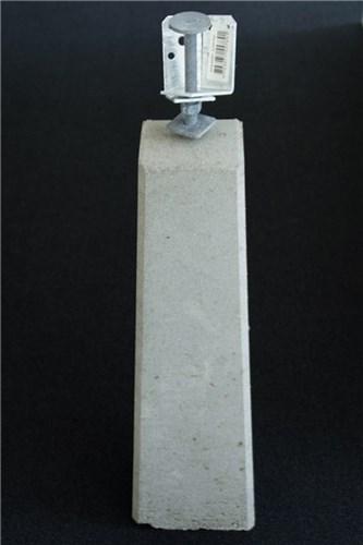 RBR CARPORTSTOLPER BETON - 80 CM M/MULTIBESLAG:50-110 MM
