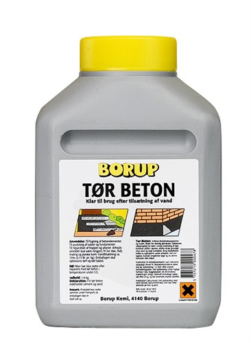 BORUP TØRBETON  (VBT) - 1,6 KG