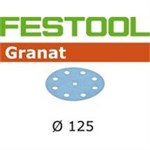 FESTOOL GRANAT SLIBESKIVER - P 120 STF D125/90 GR P/100 STK