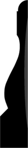 21x110 mm Fyr U/S 1-2 List. - Indfatning Gentofte