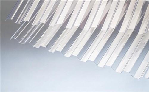 RODENA PVC TRAPEZ TAGPLADE - 1115X2440 MM GLASKLAR (HT)