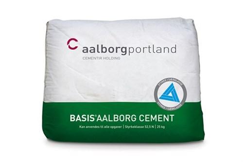 AALBORG CEMENT BASIS 25 KG - **NETTOPRIS** 42 SÆK./PL. G/H