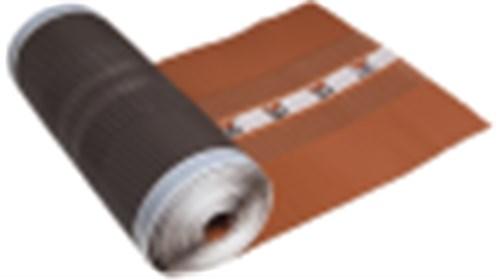 IBF ALU/NET GRATRULLER - 380 MM X 5 M  SORT