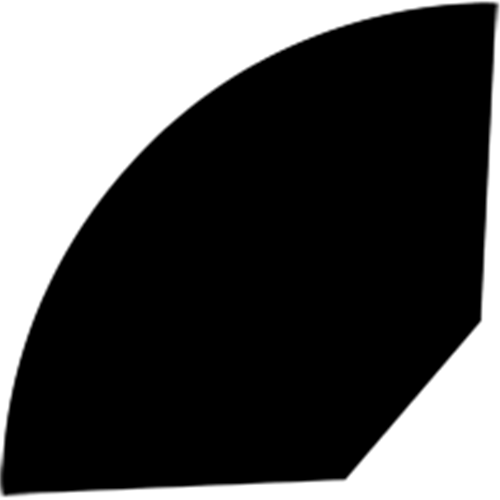 12 x 12 mm Eg Lak  (KL) - Kvartstaf